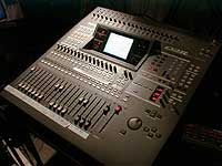 Yamaha O2R mixing desk installed in Sound Station Recording Studio Galashiels.